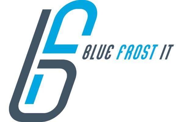 blue frost it LLC logo